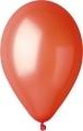 metál lufi 27 cm - 005  narancs