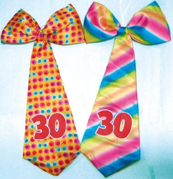 óriás évszámos nyakkendő 30.