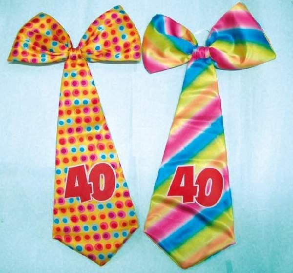óriás évszámos nyakkendő 40.