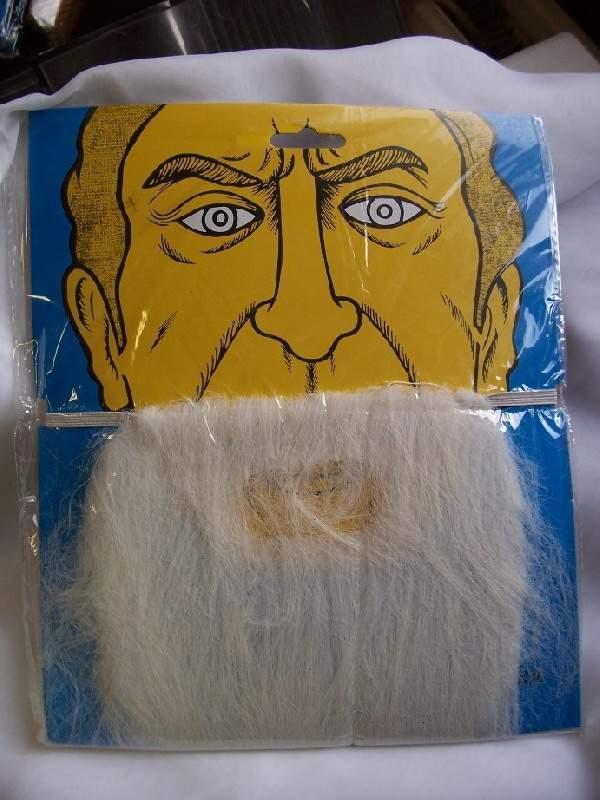 szakáll fehér
