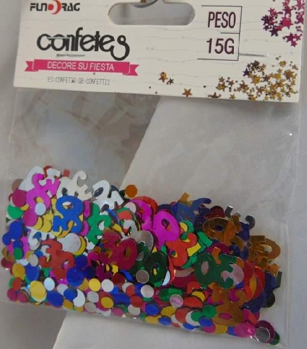 30. évszámos konfetti (14 gr.)