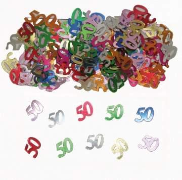 50. évszámos konfetti (14 gr.)