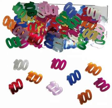 100. évszámos konfetti (14 gr.)