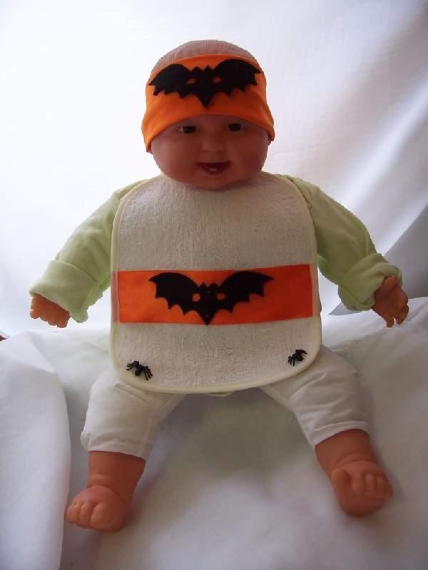 halloween denevér bébi jelmez