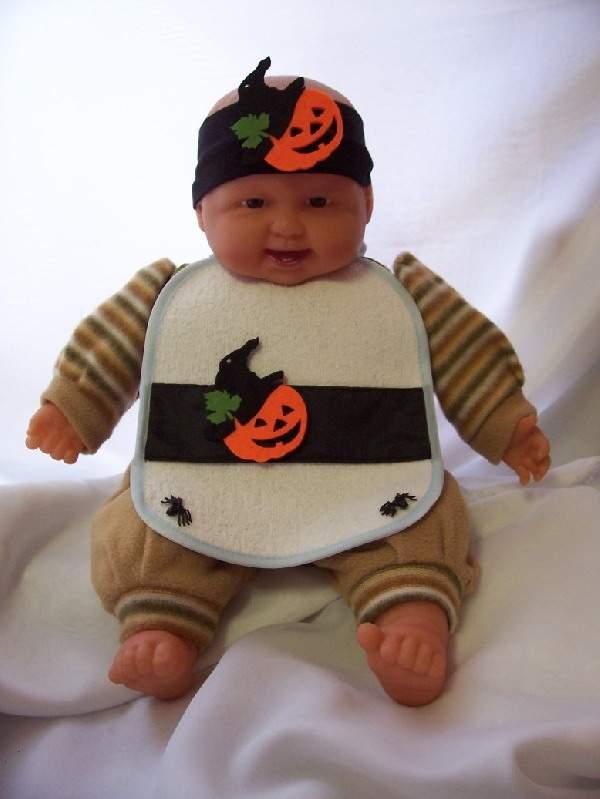 halloween tökfej bébi jelmez