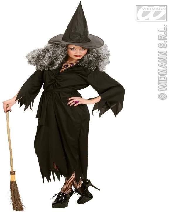 Boszi, boszorkány női farsangi jelmez (M- 38-40 méret)