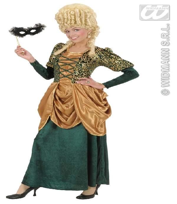 Barokk női farsangi jelmez (42-44 méret)