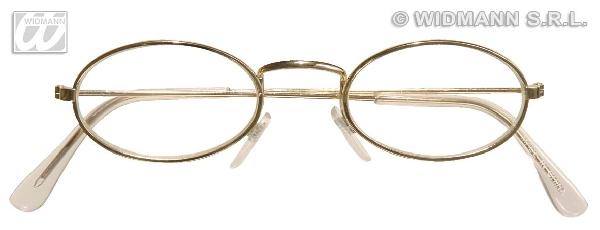 titkárnő szemüveg (félkerek)