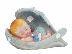 babás kisfiú dísz (10*6,5 cm)- DF11C