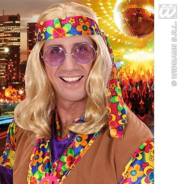szőke hippie paróka