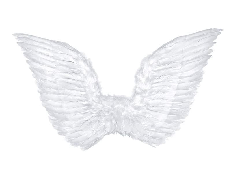 fehér, toll angyalszárny (70*45 cm)-SK3-008