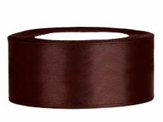 2,5 cm-s szatén szalag (25 m) barna (032)