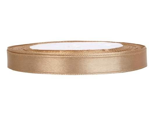0,6 cm-s szatén szalag (25 m) arany (019J)