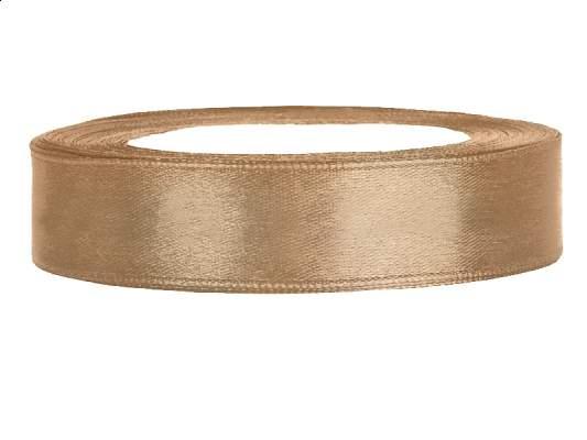 1.2 cm-s szatén szalag (25 m) arany (019J)