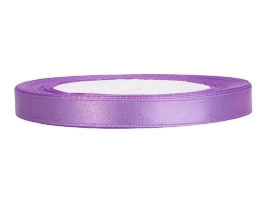 0,6 cm-s szatén szalag (25 m) lila (004)