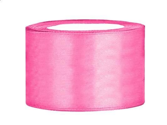 3,8 cm-s szatén szalag (25 m) s.rózsaszín (081)