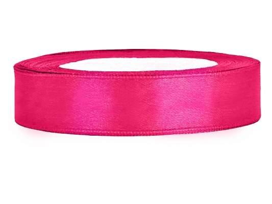 1,2 cm-s szatén szalag (25 m) pink (006)