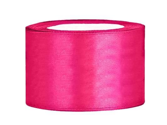 3,8 cm-s szatén szalag (25 m) pink (006)