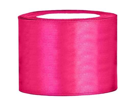 5 cm-s szatén szalag (25 m) pink (006)
