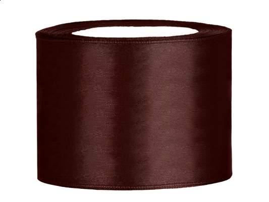 5 cm-s szatén szalag (25 m) barna (032)