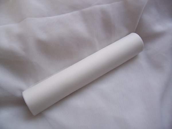 dekorselyem asztali futó fehér (25 cm * 10 m)