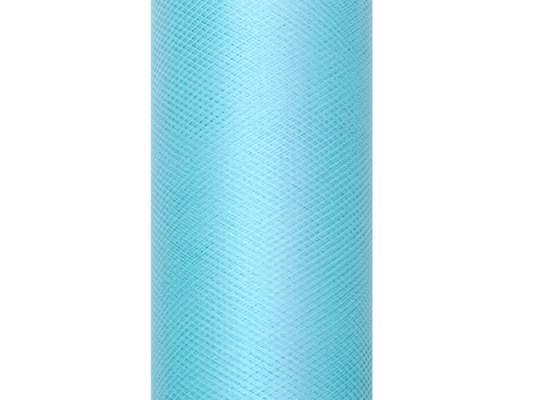 türkiz tüll dekoranyag 30 cm * 9 m  puha