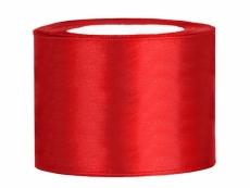 5 cm-s szatén szalag piros (25 m)-007