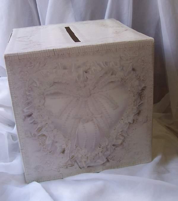 nászajándék gyűjtő doboz (30*30*30 cm)