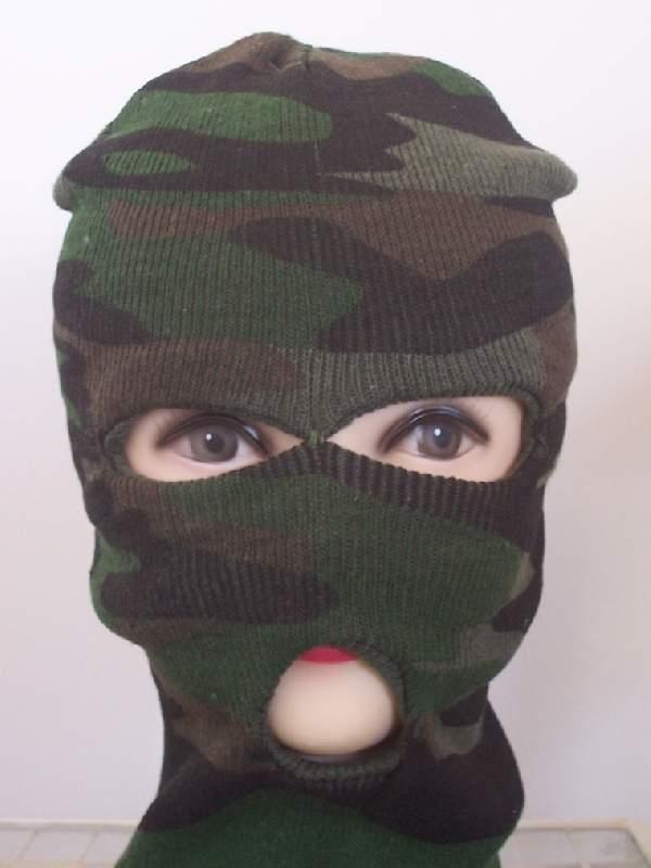 Kommandós maszk (terepmintás)