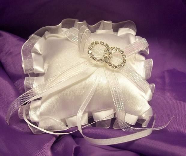 esküvői gyűrűpárna (9*9 cm)