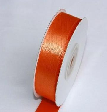 Szatén szalag narancs (HS-021)-(0,6 cm * 22 m)