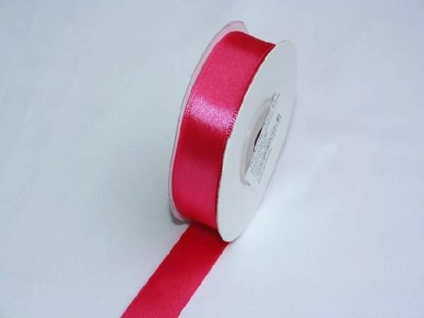 Szatén szalag pink (HS-205)-(0,6 cm * 22 m)