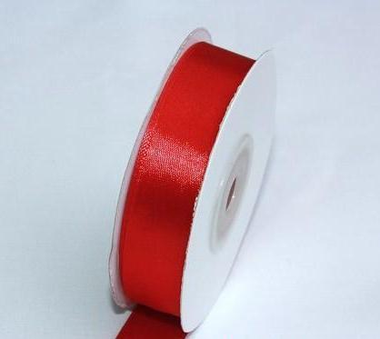 Szatén szalag piros (HS-001)-(0,6 cm * 22 m)