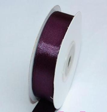szatén szalag padlizsán lila (HS-518)-(3,8 cm*22 m)