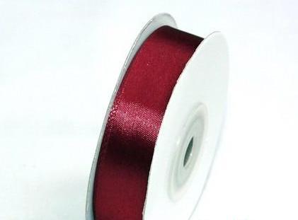 szatén szalag bordó (HS-005)-(5 cm * 22 m)