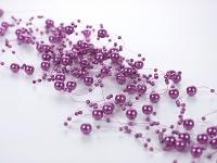 gyöngyboa (5 *1,2 m) lila (GP6)