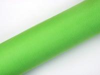 világoszöld tüll dekoranyag(30 cm * 9 m)  puha