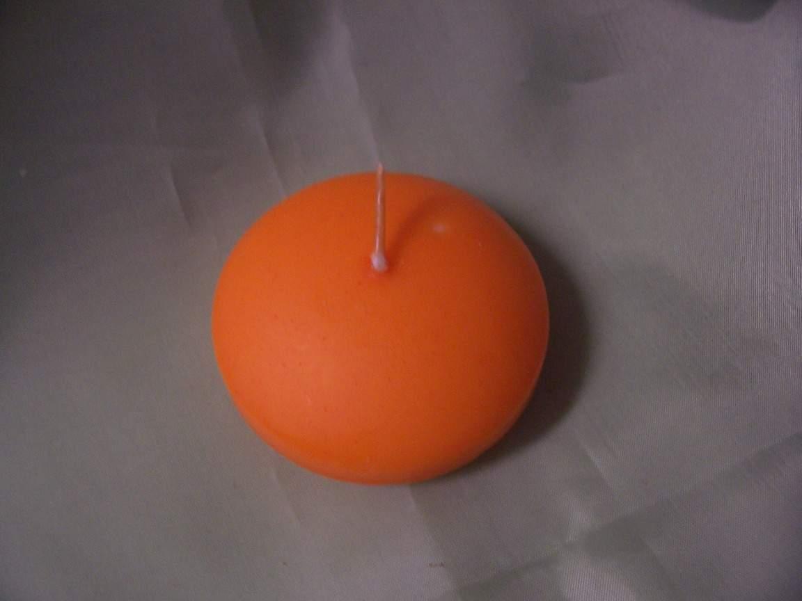 narancs úszógyertya ( 4 órás)