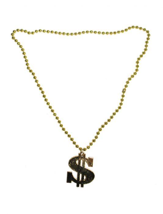 Dolláros nyaklánc arany-53491