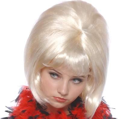 60-s évek női paróka szőke (57331-E)