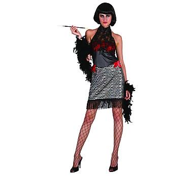 charleston női farsangi jelmez, 42 méret (083260)