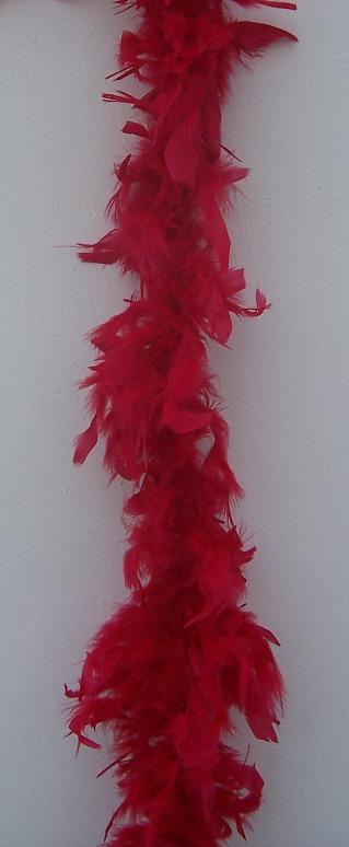 dekor tollboa borvörös (A-087) 180 cm hosszú
