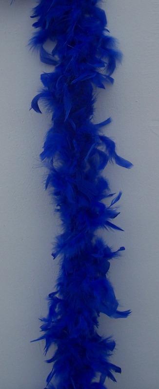 dekor tollboa királykék (A-001) 180 cm hosszú