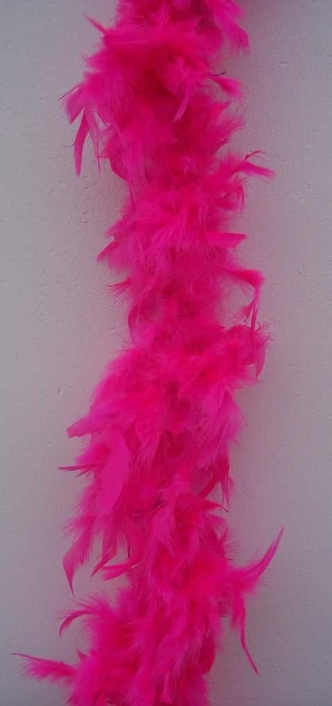 dekor tollboa pink (A-006) 180 cm hosszú
