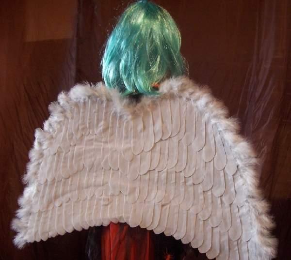 angyalszárny óriás, fehér (76x53 cm)-SAB7653
