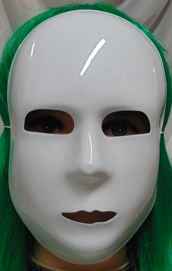 Fehér maszk (61059)