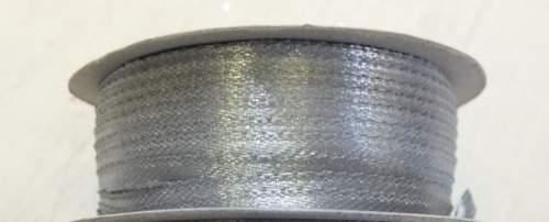 0,3 cm szatén szalag v.ezüst (50 m)-(019)