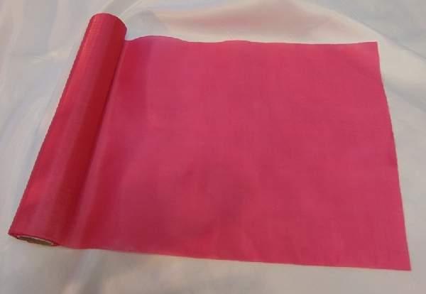dekorselyem asztali futó pink-205 (25 cm * 10 m)