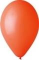 pasztel lufi 12 cm - 005 narancs