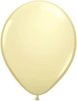 pasztel lufi 27 cm - 079j krém